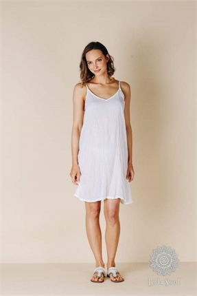 Ibiza cotton slip-lulalife-Gaby's