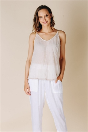 Ibiza cotton cami-lulalife-Gaby's