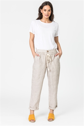 Castaway roll up pant-pants-and-leggings-Gaby's