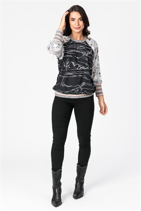 Dolman sleeve top-tops-Gaby's