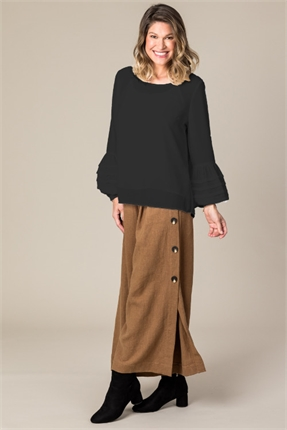 Ani tuck sleeve twosy-tops-Gaby's