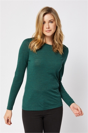 Merino crew top-tops-Gaby's