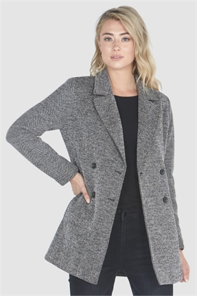 Double breasted blazer-coats-Gaby's
