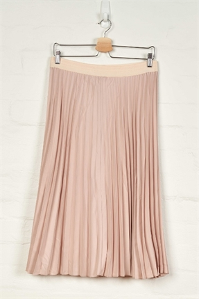 Plain pleated skirt-skirts-Gaby's
