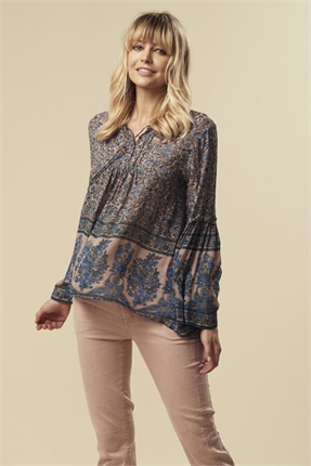 Treasure floral top-lania-the-label-Gaby's