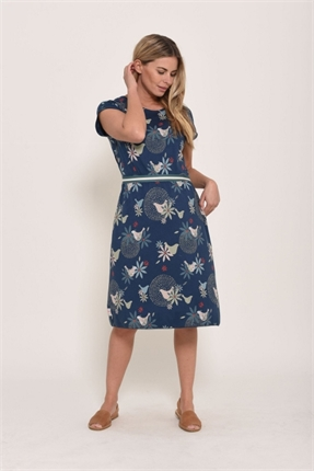 Dove jersey dress-dresses-Gaby's