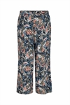 Print relaxed fit pant