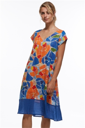 Mosaic A-line dress-zaket-and-plover-Gaby's