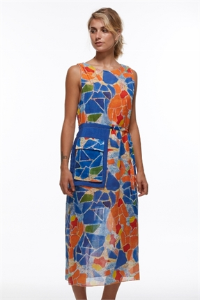 Mosaic pocket dress-zaket-and-plover-Gaby's