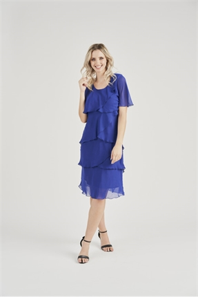 Layer chiffon dress-vivid-Gaby's