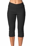 Stretch capri pant