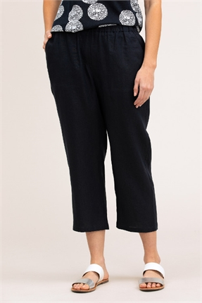 Washer linen crop pant-pants-and-leggings-Gaby's