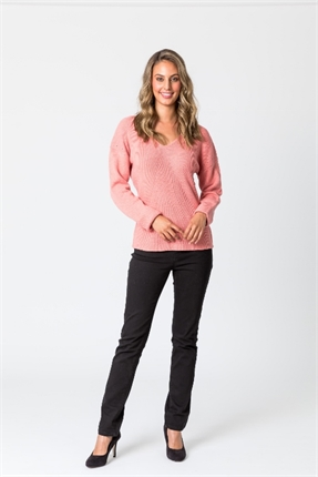 Haven rib sweater-tops-Gaby's