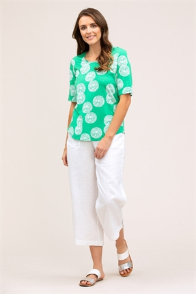 Stippled spot tee-tops-Gaby's
