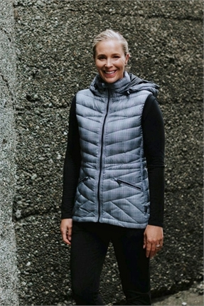 Packable down vest-moke-Gaby's