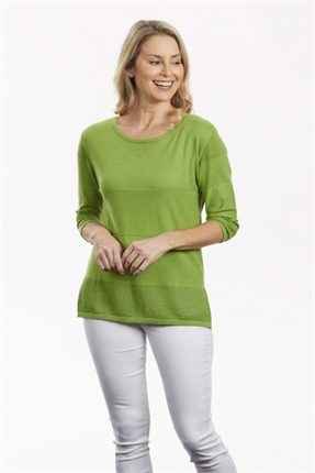 Pointelle pullover-knitwear-Gaby's