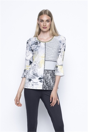 3/4 slv print top-picadilly-Gaby's